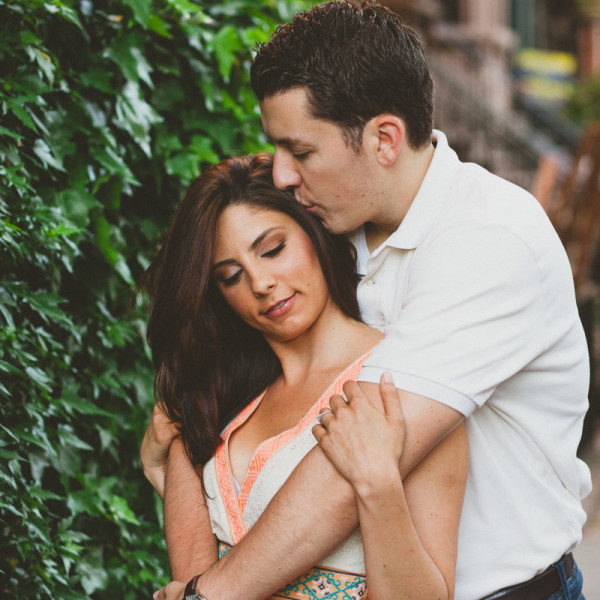 Engagement- Alissa + Shane, Hoboken- NJ Wedding Photographer