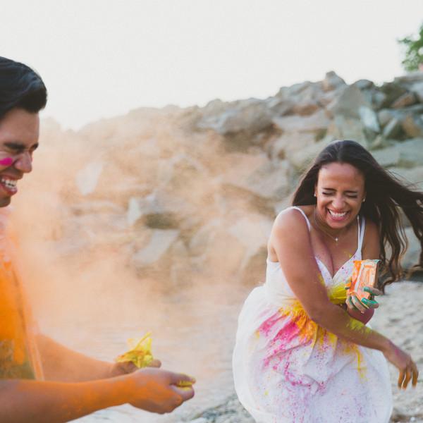 Engagement- Saira + Francisco, Fort Hancock Sandy Hook- New Jersey Wedding Photographer