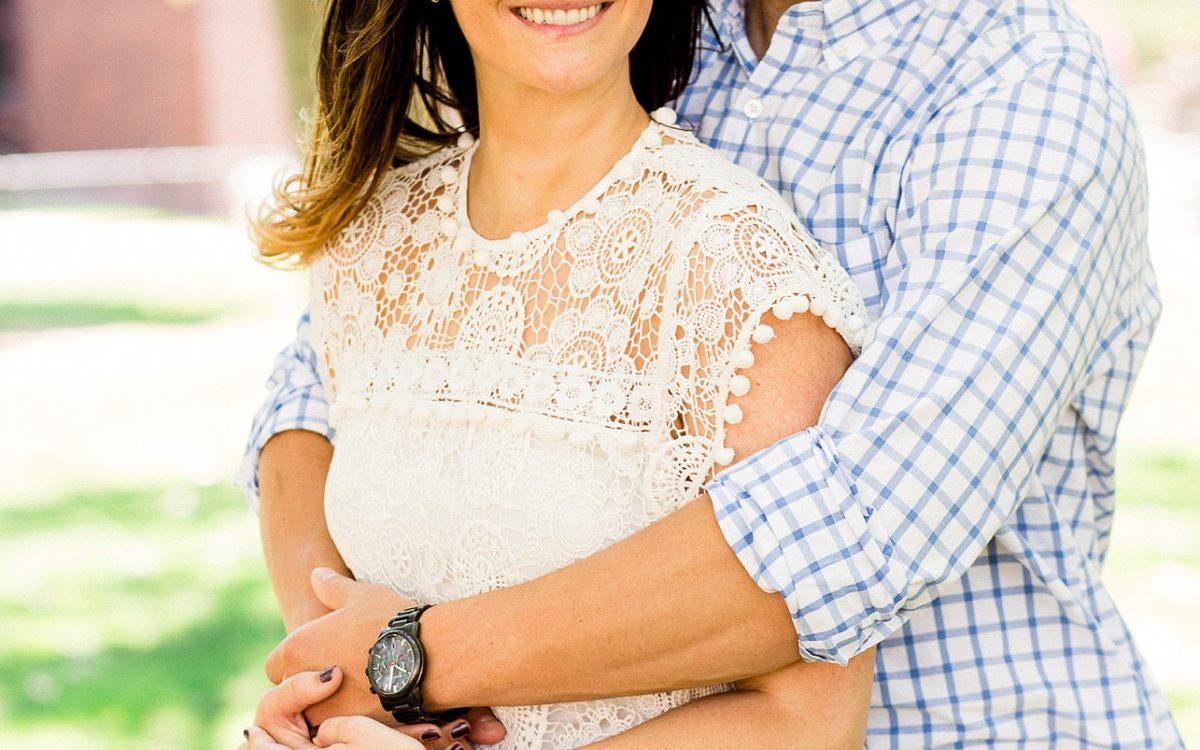 Stephanie + Chris- Hoboken Engagement Session