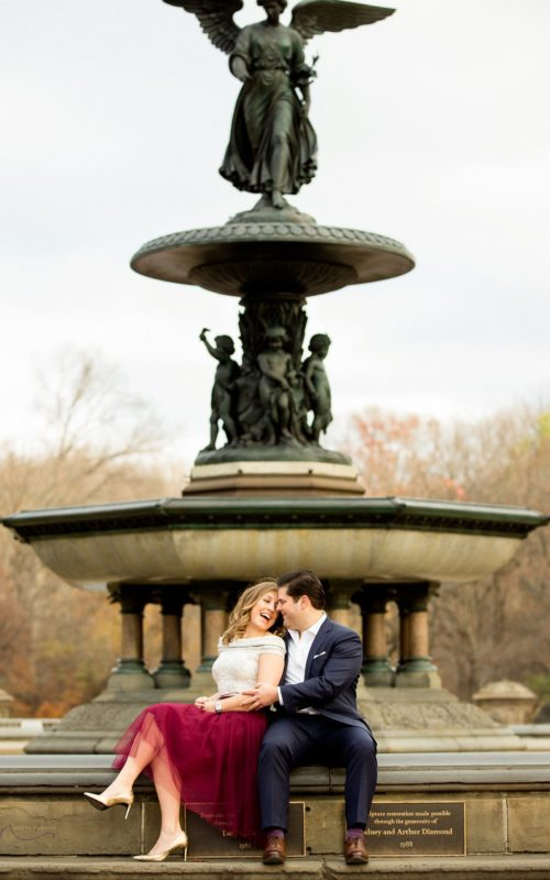Gina + Dustin- Classic NYC Engagement Session