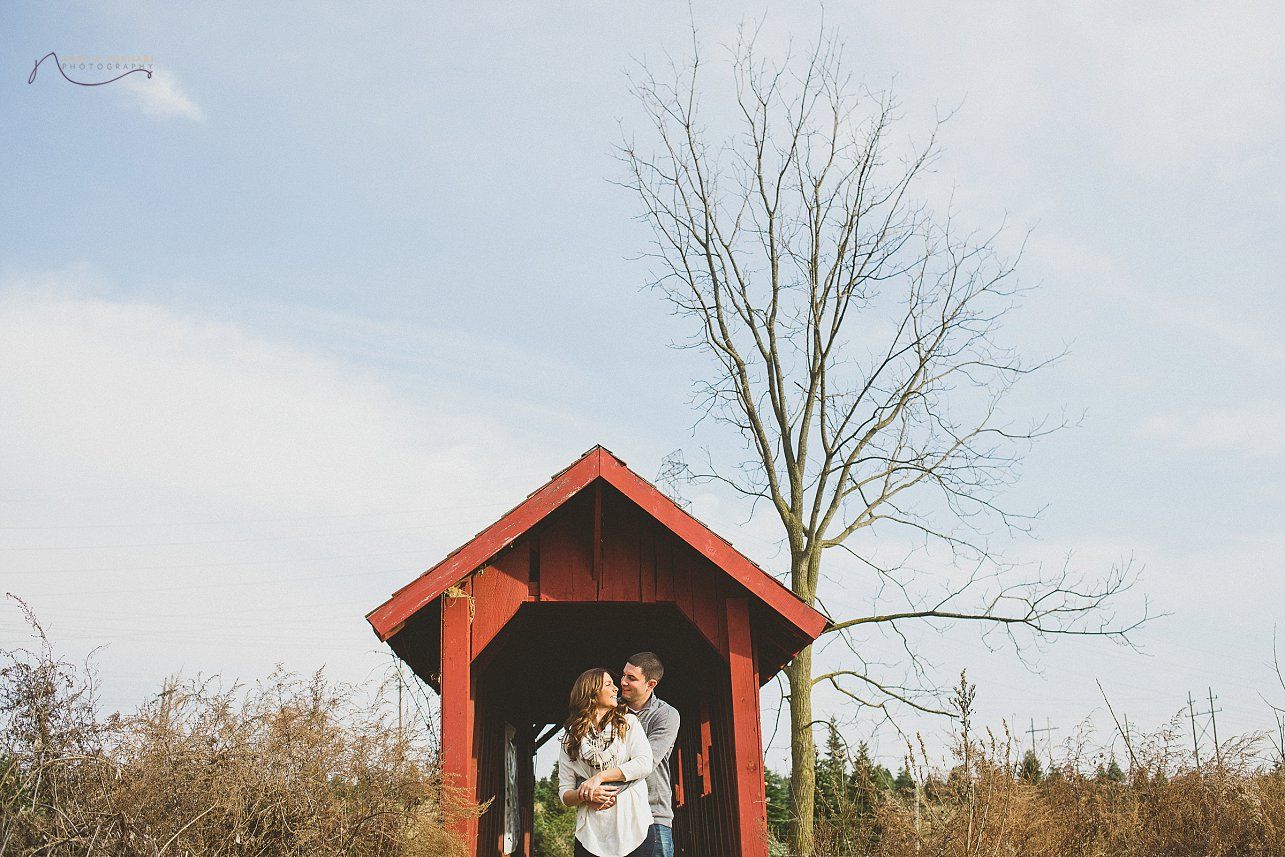 Christine + Anthony, Perfect Christmas Tree Farm Engagement - New ...