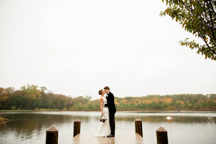 fall wedding at the mill lakeside manor