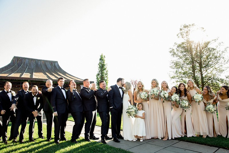 nj photographer candid bridal party photos