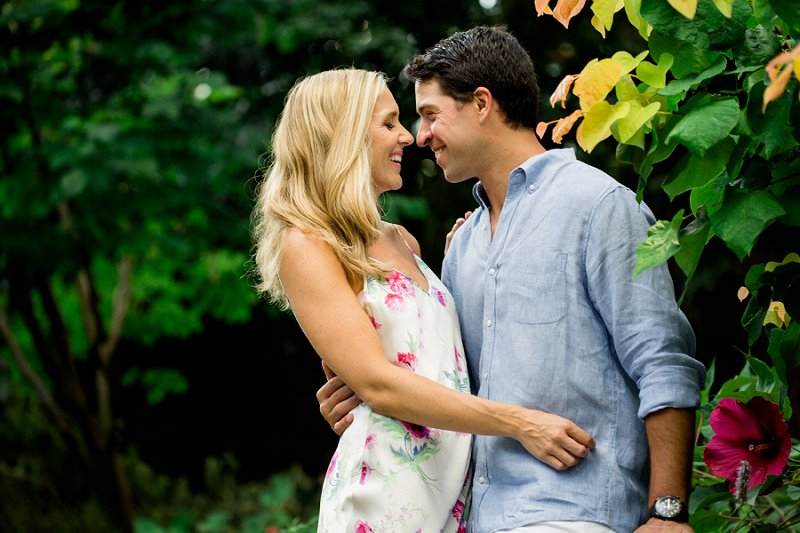 engagement session in summit nj