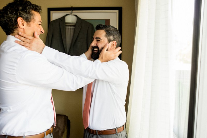 groom getting ready photography
