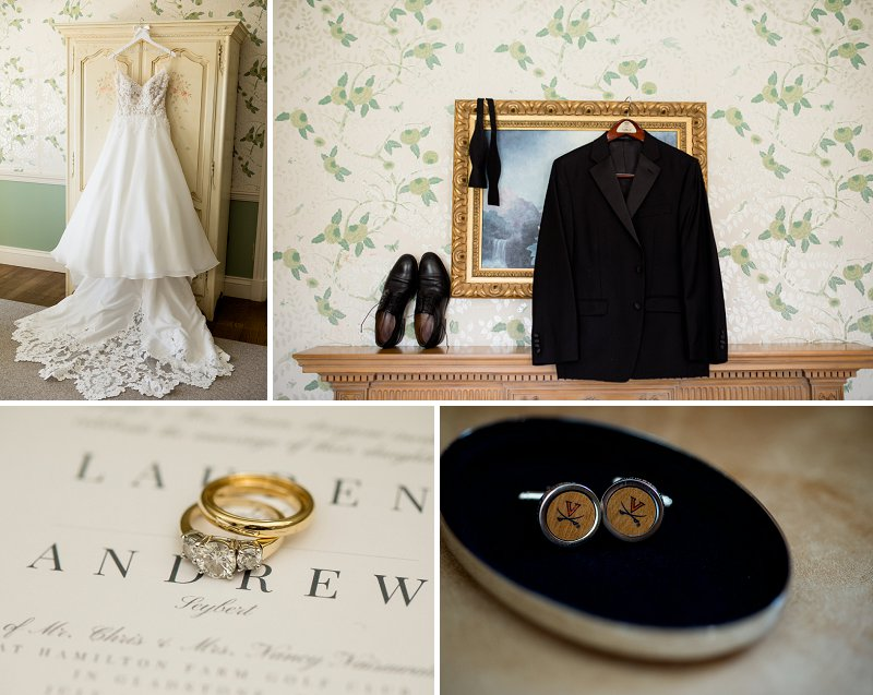 wedding day details for bride and groom